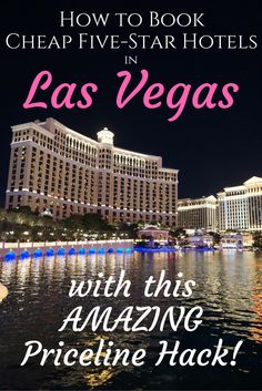 to Book Cheap Five Star Hotels in Las Vegas Priceline Hack. it works every single time!How to Book Cheap Five Star Hotels in Las Vegas Priceline Hack. it works every single time! Visit Las Vegas, Las Vegas Vacation, Las Vegas Nevada, Vacation Trips, Dream Vacations, Vacation Ideas, Las Vegas Suites, Girls Vacation, Vacation Spots