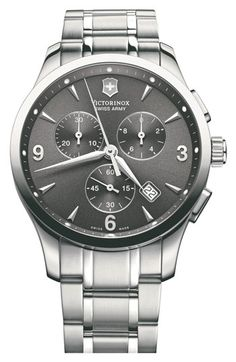 Victorinox Swiss Army® 'Alliance Chrono' Large Bracelet Watch available at #Nordstrom