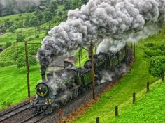 steam engines are awesome trains but I am a little confused with this photo, why is there 2 of them together running?