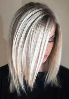 Bob hairstyles: perfect haircut for all hair lengths hairstyles medium length . - Bob hairstyles: perfect haircut for all hair lengths hairstyles medium length …, - Long Bob Haircuts, Straight Hairstyles, Easy Hairstyles, Summer Hairstyles, Blonde Long Bob Hairstyles, Lob Haircut Straight, Updo Hairstyle, Haircut Bob, Hairstyle Ideas