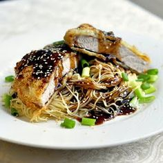 This recipe for crunchy Asian pork chops became an instant favorite with us. The sauce tastes great on broccoli!