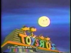 Toys R Us : Classic 1980 Halloween Commercial. Those awful plastic sack costumes!
