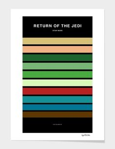 Colors of Star Wars - Return of the Jedi main illustration