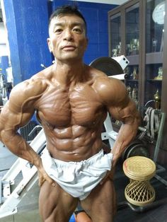 Aikawa Koichi (相川 浩一, Japanese Bodybuilder)