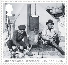 Shackleton and the Endurance Expedition 1st Stamp (2016) Patience Camp - December 1915 - April 1916