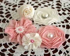 Crepe paper flower tutorials