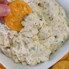 Bacon Onion Dip made with cream cheese. I would use real bacon! Appetizer Dips, Appetizers For Party, Appetizer Recipes, Party Dips, Dip Recipes, Cooking Recipes, Healthy Recipes, Keto Recipes, Healthy Nutrition