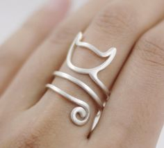 Triple T Studios - Cat Tail Ring