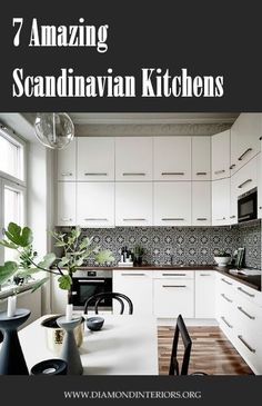 How to create a timeless Scandinavian styled kitchen with a unique twist!