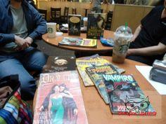 Encontro de livros sobre vampiros, com Adriano Siqueira
