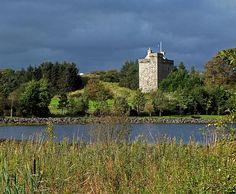 Mains Castle, East Kilbride, Scotland