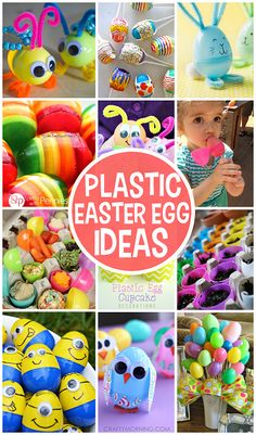 Creative Things to Make out of Plastic Easter Eggs (Crafts and DIY ideas!) | CraftyMorning.com