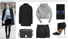 A Cold-Weather Approach to the Mini Skirt | Rue
