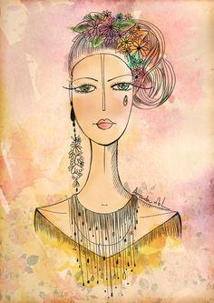 Amanda Mol - Doçura Em Forma De Ilustração  Produzir beleza é algo que demanda uma boa dose de leveza e talento, e é algo que a artista mineira Amanda Mol se propôs a fazer ao tornar seu trabalho uma expressão do que seus olhos veem de mais belo e sutil no mundo.  Formada em design de moda, se sentiu um pouco insegura quando decidiu optar pelo ramo de ilustrações, porém, ao analisar o desenvolvimento e os resultados de sua dedicação, Amanda passou a ter  mais confiança no caminho que…