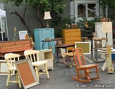 10 Things to Buy at Garage Sales - great ideas