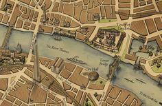 Wellingtons Travel 1800s map
