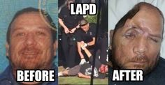 LAPD, Walter DeLeon, Police state, badge abuse...America the police state