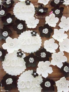 New Year Celebration cupcakes