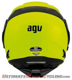 AGV Compact Modular Helmet  Ride with Chin Guard Open