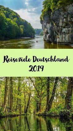 Holidays in Germany – beautiful travel destinations for 2019 – Sophias Welt - Van Life Europe Destinations, Europe Travel Tips, Holiday Destinations, Best Places In Europe, Cool Places To Visit, Tumblr New York, Camping In Deutschland, Koh Lanta Thailand, Les Continents