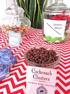 Pinning with Purpose: Harry Potter Party - Food
