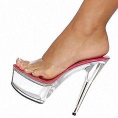 Women's Shoes Platform Stiletto Heel Sandals Shoes - USD $ 44.99