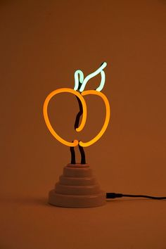 Slide View: 1: Peach Neon Light