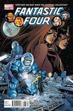 Fantastic Four #577 - Prime Elements, Part 3: Universal Inhumans