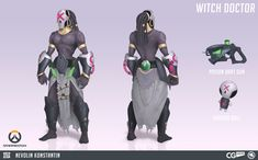 Image result for overwatch witch doctor