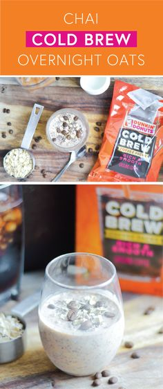 It's time to get out of bed and start your day out on the right foot! And with the help of the new Dunkin' Donuts® Cold Brew Coffee Packs and this recipe for Chai Cold Brew Overnight Oats, that's never been easier. Whether you're looking to transform your breakfast routine with a bit of meal prep, or are just looking for tasty ways to become a morning person, this dish has it all. Find everything you need at Target to get started!