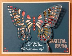 Musing Butterfly by theelopers - Cards and Paper Crafts at Splitcoaststampers