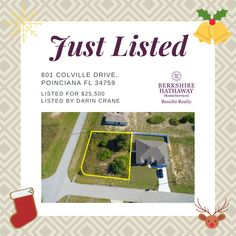 #vacantland #acreage #land #buyland #theyarentmakeingitanymore #poinciana #florida #forsaleinpoinciana #countrysetting #holidaylistings #forsaleoverchristmas #centralfloridarealtor #silverbells #goldenbells #stockings #rudolph #reindeergames #reindeer #buildit #yourdreamhomeawaits Improve Yourself, Finding Yourself, Vacant Land, How To Buy Land, Find Homes For Sale, Next At Home, Investment Property, First Names, Reindeer
