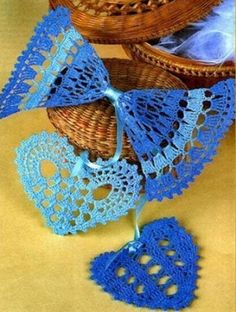 Crochet blue heart ♥️LCH-MRS♥️ with diagrams.