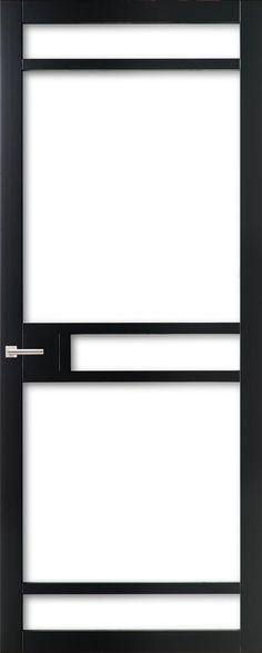 WK6312 - Industriële binnendeur met een strak, modern, stoer en tijdloos design. Kenmerkend voor deze deur is de verfijnde uitstraling en de slanke profilering. Passend in een modern en strak interieur. De deur zorgt voor veel lichtinval en een ruimtelijk karakter. Ook toepasbaar als dubbele deuren of schuifdeur(en).