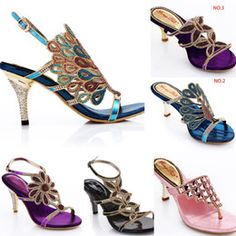 Discount Peacock Heels 2016 6 styles female sandals summer genuine leather peacock sandals blue rhinestone sandals women's high-heeled shoes women sandals