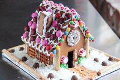 おいしいジンジャーブレッドハウス(お菓子の家)Gingerbread House