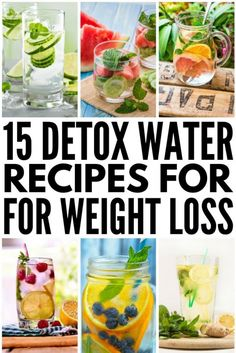 Detox Cleanse For Weight Loss, Body Detox Cleanse, Detox Your Body, Weight Loss Smoothies, Healthy Cleanse, Juice Cleanse, Stomach Cleanse, Water Recipes, Detox Recipes