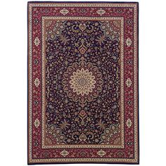 The Conestoga Trading Co. Brighton Traditional Brown/Red Area Rug Rug Size: