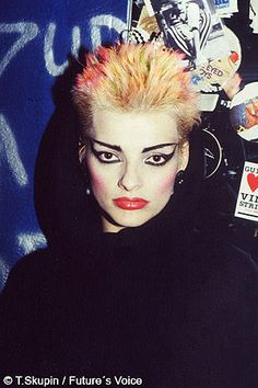 Nina Hagen 1984 nini realising how souless and earth-destroying the music industry is, but she's gonna live her life in her sowong...