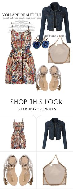 """""""Untitled #2521"""" by janicemckay ❤ liked on Polyvore featuring LE3NO, L*Space, STELLA McCARTNEY, Betsey Johnson, women's clothing, women, female, woman, misses and juniors"""