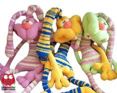 121 Crochet Pattern Rabbit Dude Keks Amigurumi soft toy