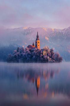 Lac Bled. Slovénie.