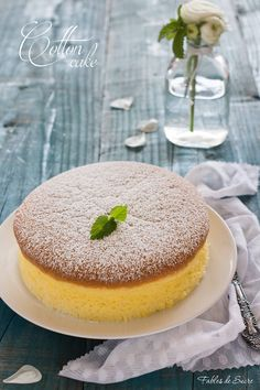 Cotton cake - Japanese cotton cheescake