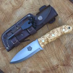 The TBS Grizzly Bushcraft Survival Knife has been through a very minor re-design and evolved as the Mark II The Grizzly has always been a great knife