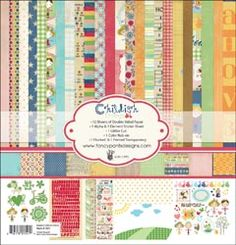 PRE-ORDER Childish Things Collection Kit 12X12 [213957] - $25.99 : Yours for Keeps Scrapbooking, create.share.laugh.capture.memories