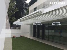 TOLDOS COFRE DISEÑO ELIPTICO - Pérgolas Barcelona TE®