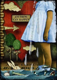 Anything Can Happen... The pool of tears by glitterbug at Deviant Scrap