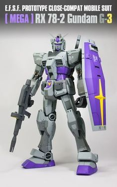 Mega Size Model 1/48 RX-78-2 Gundam G-3: Remodeling Work by KUMT2. Full PHOTO REVIEW + WIP | GUNJAP