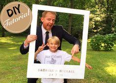 DIY Tutorial für einen Polaroid-Rahmen für eure Hochzeit oder Party <3 Ihr sucht für eure Photobooth Session noch eine coole Idee? Ein Polaroid Rahmen ist schnell gemacht und kann super individualisiert werden. Mal eine andere Idee für eure Hochzeit: http://www.wedding-board.de/diy-polaroid-photo-booth/  diy-polaroid-hochzeit-wedding-board