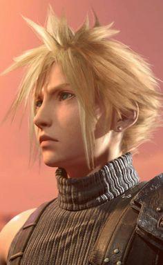Cloud And Tifa, Cloud Strife, Tetsuya Nomura, Sora Kingdom Hearts, Final Fantasy Vii Remake, Anime Neko, Character Inspiration, Clouds, Kakashi